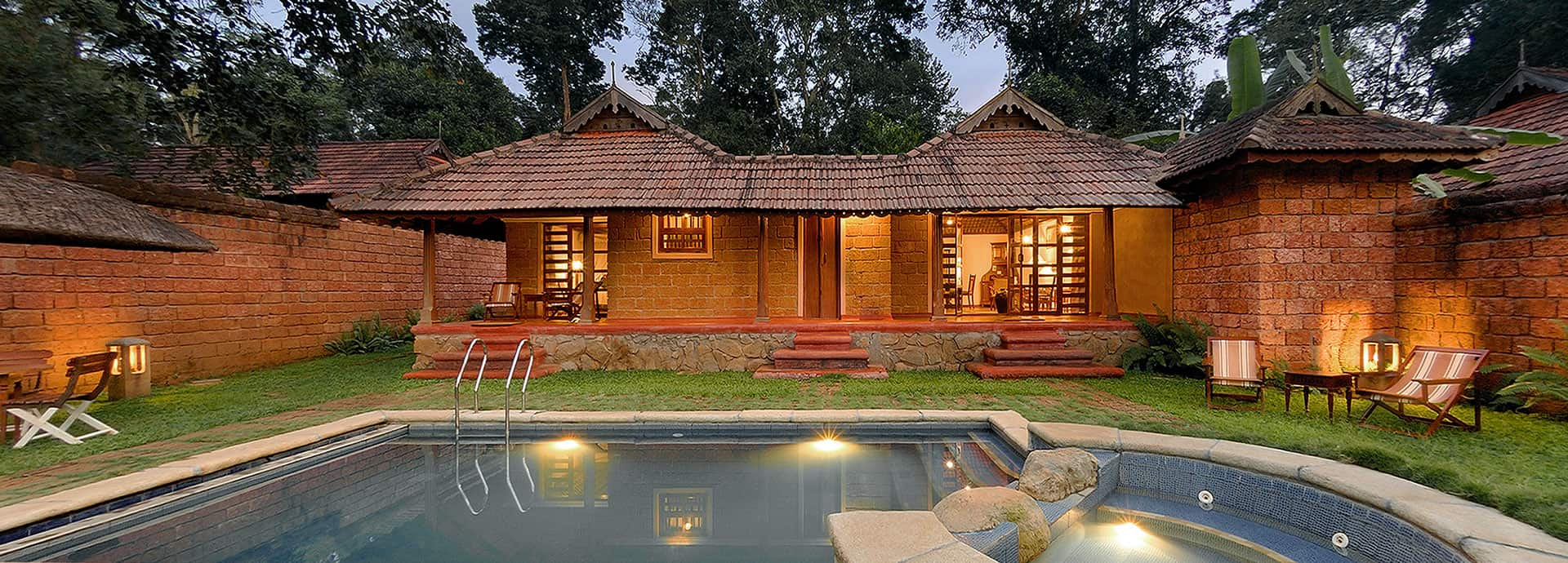 Private pool villas, Coorg, Orange County Resorts