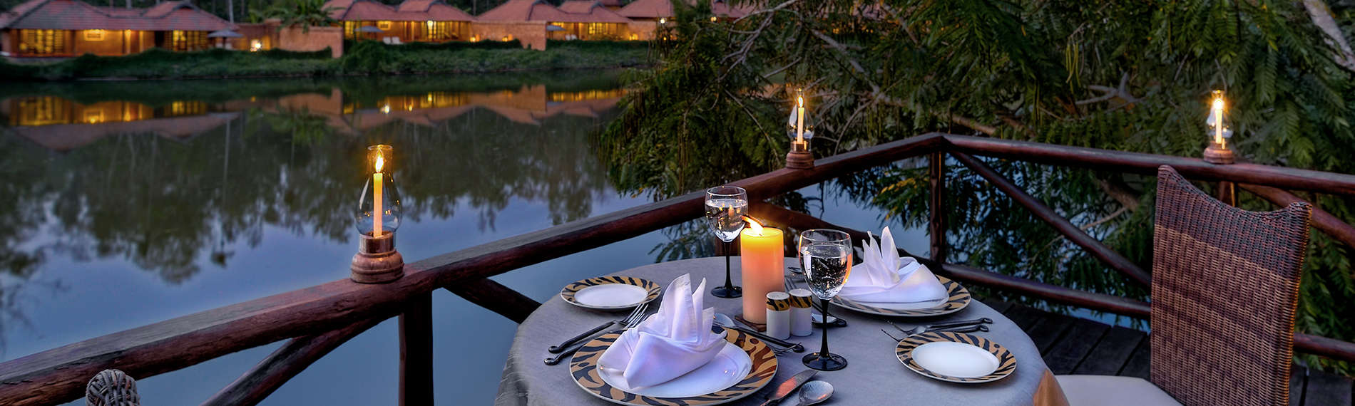 Dining in coorg, Orange County Resorts