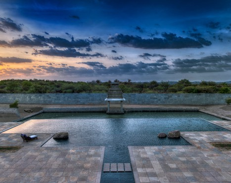 Infinity Pool, Hampi | Orange County Resorts