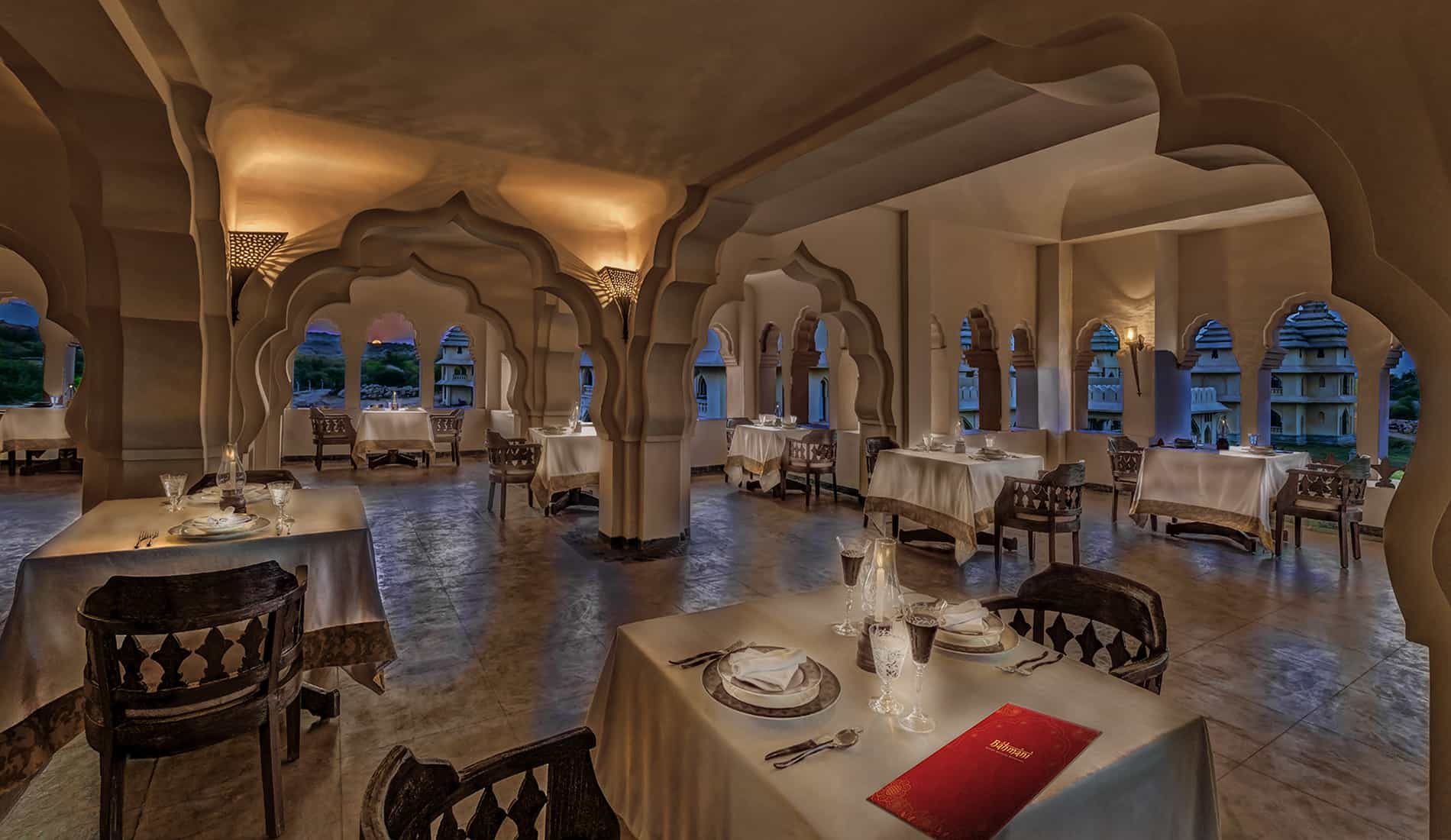 Bahmani Speciality Restaurant, Hampi | Orange County Resortys